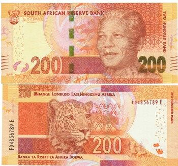 South Africa Cat # 137 200 rand