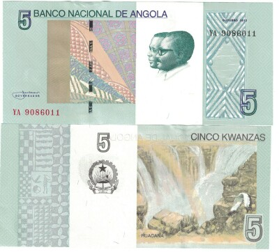 Angola 2017 Issue 5 kwanzas