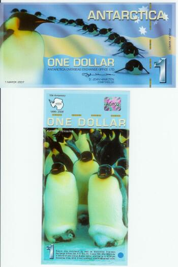 Antarctica 2007 -March Polymer Issue $1