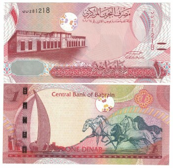 Bahrain NEW 2017 Issue 1 dinar