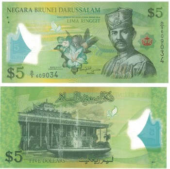 Brunei Cat # 36 5 ringgit