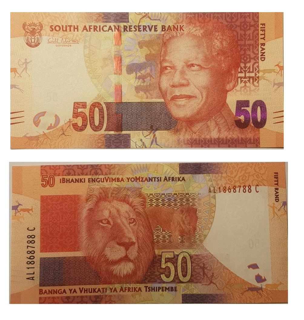 South-Africa #135 50  Rand