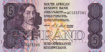 South Africa # 119c 5 rand