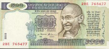 India # 87a 500 rupees