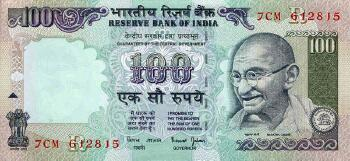 India # 91k 100 rupees