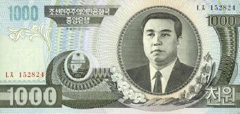 Korea, North # 45a 1000 won