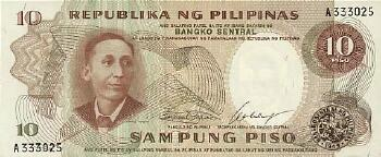 Philippines # 144a 10 piso