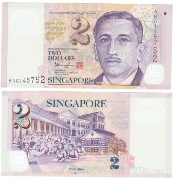 Singapore Cat # 46 2015 Issue 2 dollars