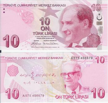 Turkey # 223 10 lira
