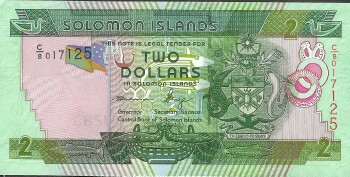 Solomon Islands 2011 Issue 2 dollars