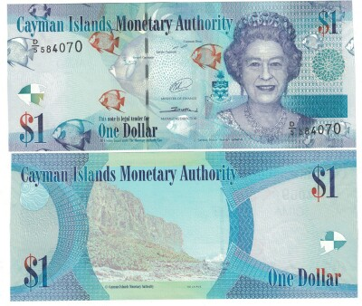 Cayman Islands NEW 2015 issue 1 dollar