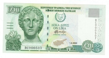 Cyprus Cat # 62e 10 pounds Serial # 000507