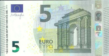 European Union Italty #20s  5 euro