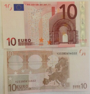 European Union Greece Cat # 10y 10 euro