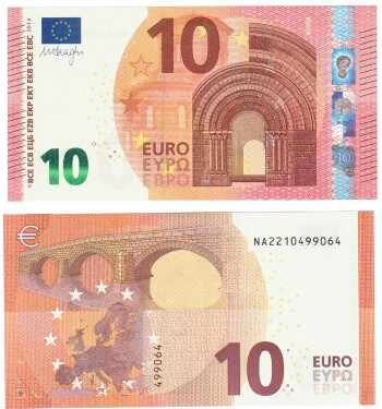 10$ In Euro
