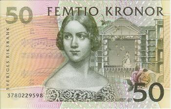 Sweden # 62a 50 kronor