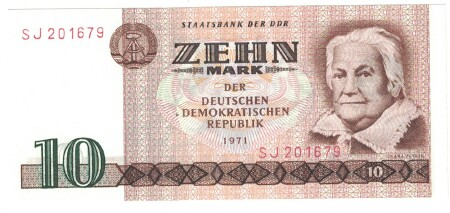 Germany Dem. Rep. # 28a 10 mark