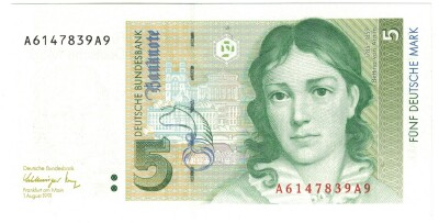 Germany Fed. Rep. # 37 5 deutsche mark