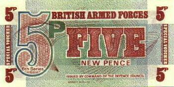 Great Britain # m47 5 new pence