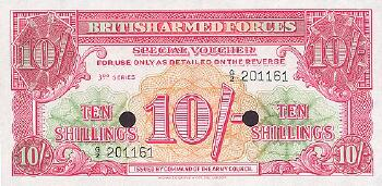 Great Britain # m28b 10 shillings