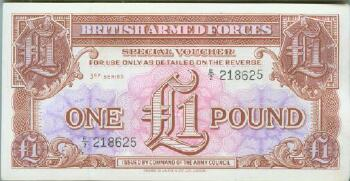 Great Britain # m29 1 pound