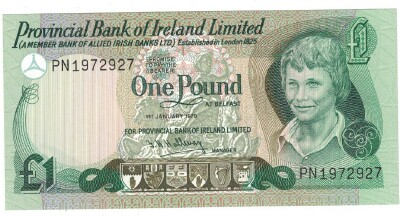 Northern Ireland # 247b 1 pound