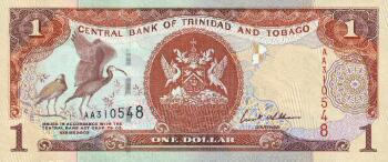 Trinidad & Tobago Cat # 46 1 dollar