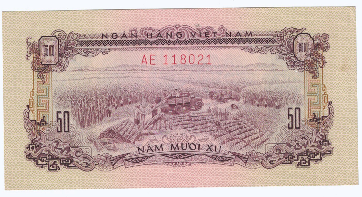 South Vietnam # 39 50 xu CIRC #17