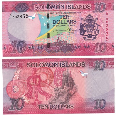 Solomon Islands # 33 10 dollars