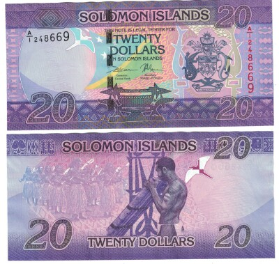 Solomon Islands # 34 20 dollars