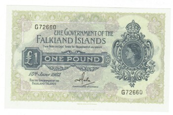 Falkland Islands Pick # 8e 1 pound