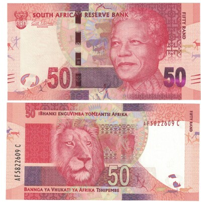 South Africa # 140a 50 rand