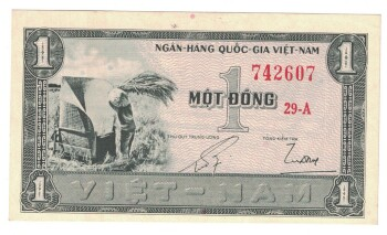 South Vietnam # 11 1 dong