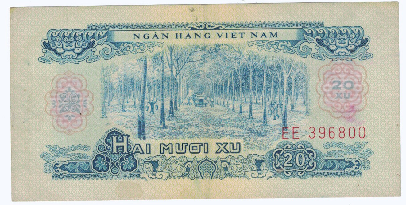 South Vietnam #38 20 xu CIRC #28