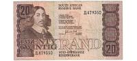 South Africa # 121c 20 rand CIRC #19