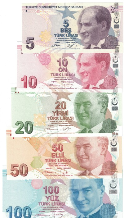Turkey 5-Note Set 5-100